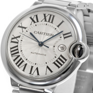 Replica Cartier Ballon Bleu Automatic Steel Uhr W69012Z4