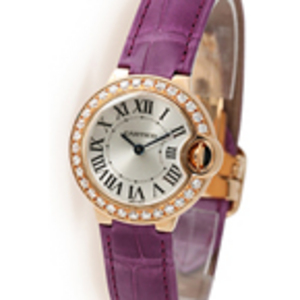 Replica Cartier Ballon Bleu Diamanten Damenuhr WE900251