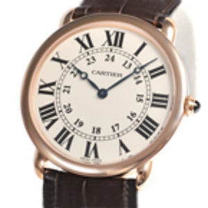 Replica Cartier Ronde Louis 18K Rose Gold Unisex Uhr W6800251