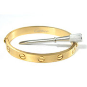 Cartier Love-Armband 18K Gold