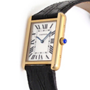 Replica Cartier Tank Solo Gold- Damenuhr W1018755
